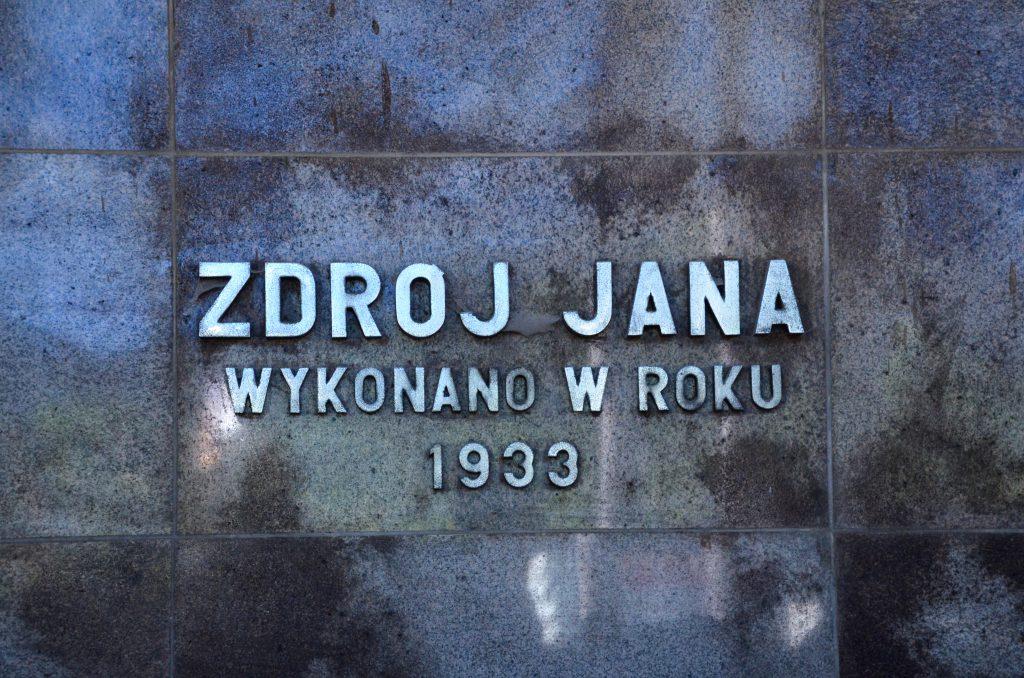 Hydroizolacja budynku Pijalni Wód Jana w Krynicy-Zdroju