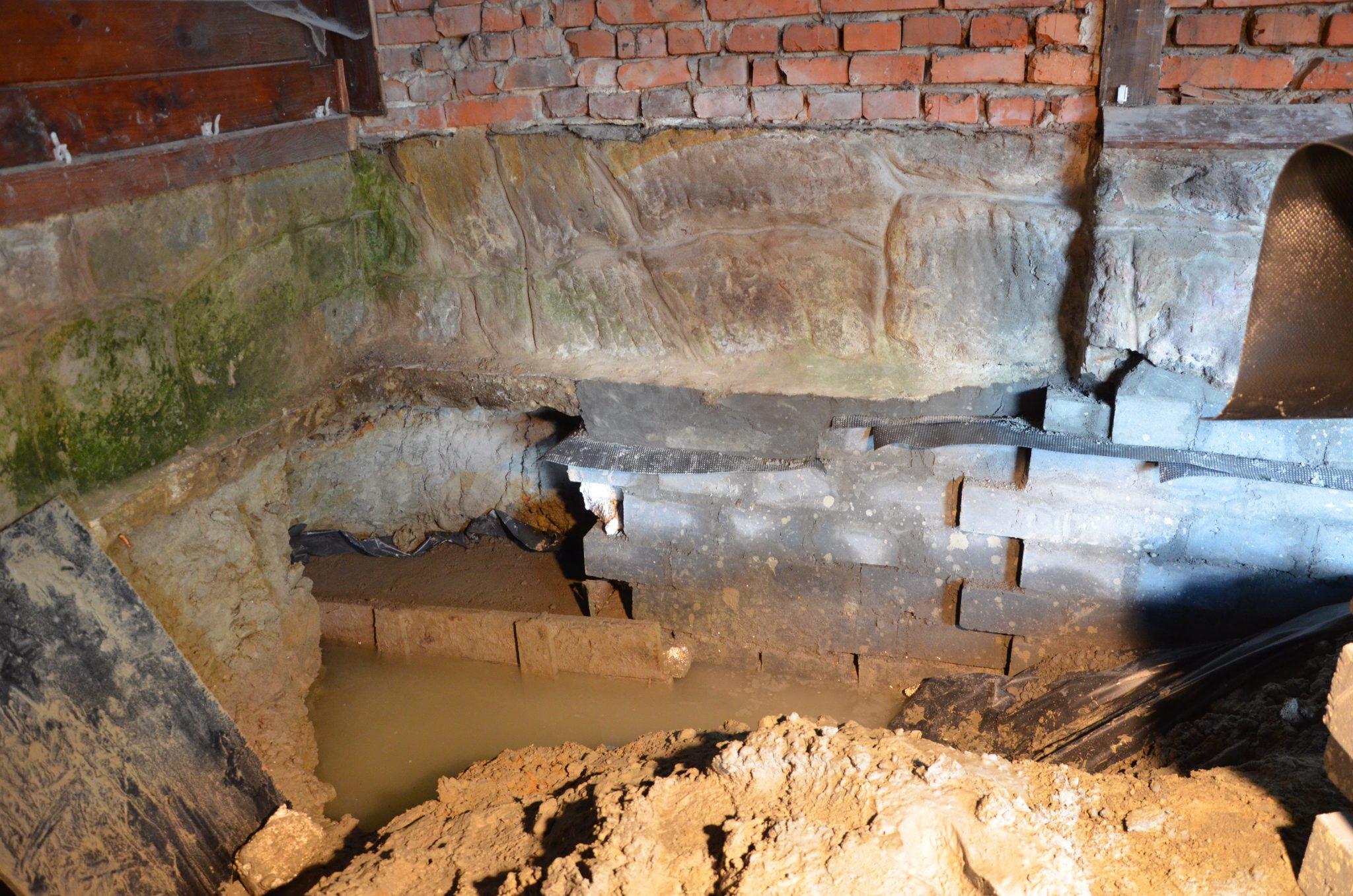 Hydroizolacja piwnic: zalana piwnica – co robić?